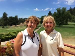 Cathy Fouyer & Sandy Hansen, 2014 Partners Best Ball Champions for 18-hole group