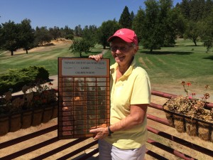 Chris Elko claims her 4th Club Championship for the 18-hole ladies group