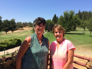 Low Net Winners - 1st place - Maggie Flecksteiner; 2nd place - Cathy Fouyer