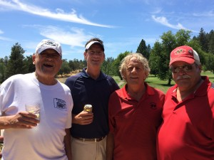 Patriots Tourney Men's Flight Winners - Bill Thompson, Mark Ryan, Ted Callison & Dan Johnson