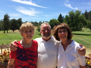 Patriots Tourney Couples Flight Winners - Jody Wood, Bill & Donna Roach (not pictured - Rob Barker)