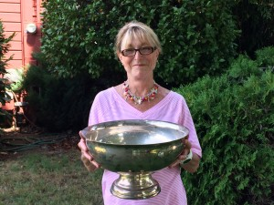 Gail Beardsley, 2015 Captains Cup Winner for the 9-hole Ladies Club