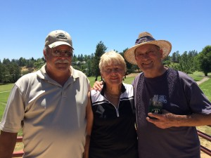 Seniors Tourney - Low Net Winners - Dan Johnson, Pat Tintle & Bill Thompson