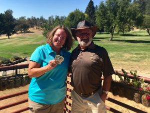 50/50 Drawing Winners Chris Brown & Bill Roach