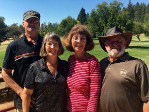 Winners Steve & Jane Parson and Donna & Bill Roach