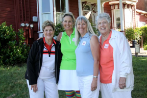 Winning Team in the Tin Man Flight - Mary Moyer, Mary Deardorff, Diane Friedberg & Lynne Martinson