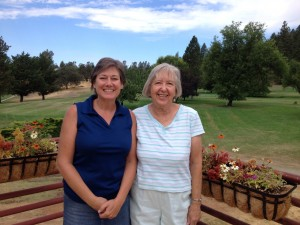 Lisa Curry & Dorothy Stone, 2014 9ers Partners Best Ball Champions