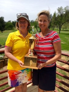 Christine Lawicki & Mary Deardorff, 18-hole Champs for the Memorial Tournament