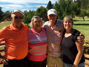 Paul & Sherrie Rankin and Don & Lisa Curry tied for 2nd in this year's tournament