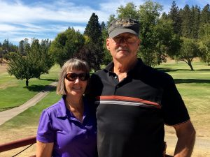 4th place finishers in this year's event - Jane & Steve Parson