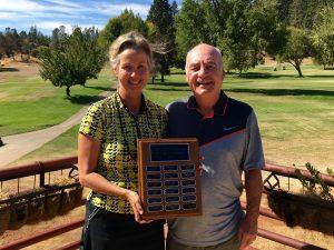 Mary & Gary Deardorff clain the 2016 Mr & Mrs Club Championship