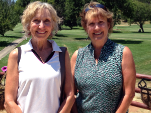 18-hole winners Sandy Hansen & Cathy Fouyer