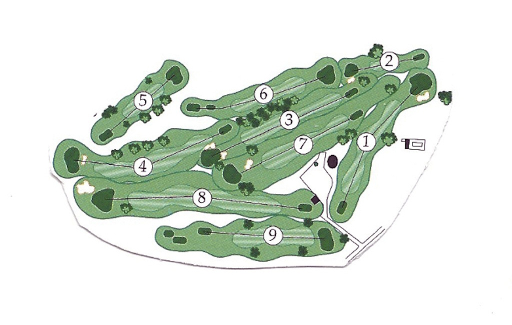 NCCC Course Map