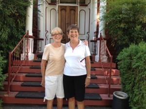 9-Hole Champs Gail Beardsley & Sandy Osterholt