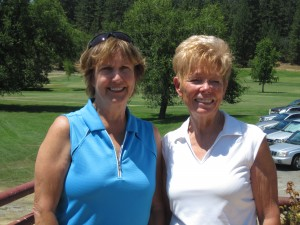 18 hole champs, Cathy Fouyer & Shirley Matlock