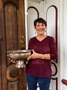 Sandy Osterholt, Captains Cup Winner for the 9-hole group