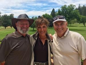 Closest to the Pin Winners Bill Roach, Bonnie Marvelli & Tom Lawicki