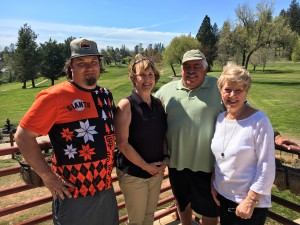 Kickoff Tournament Closest to the Pin Winners - Mike Fouyer, Jr. (Hole #5), Cathy Fouyer & Dave Koslosky (Hole #2), Gloria Dalke (Hole #5)