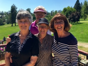 2nd Flight Winners Carol Kraemer, Renny Baker, Jane Parson & Donna Roach