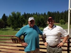 Dave Koslosky, Low Gross & Tom Lawicki, Low Net - 2nd Flight